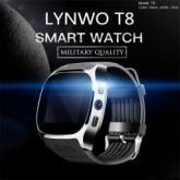 Original LYNWO T8 Waterproof Clock Bluetooth Facebook Twitter Call Record Music Android Smart Watch