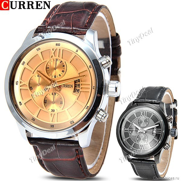 Отзыв: Кварцевые часы CURREN