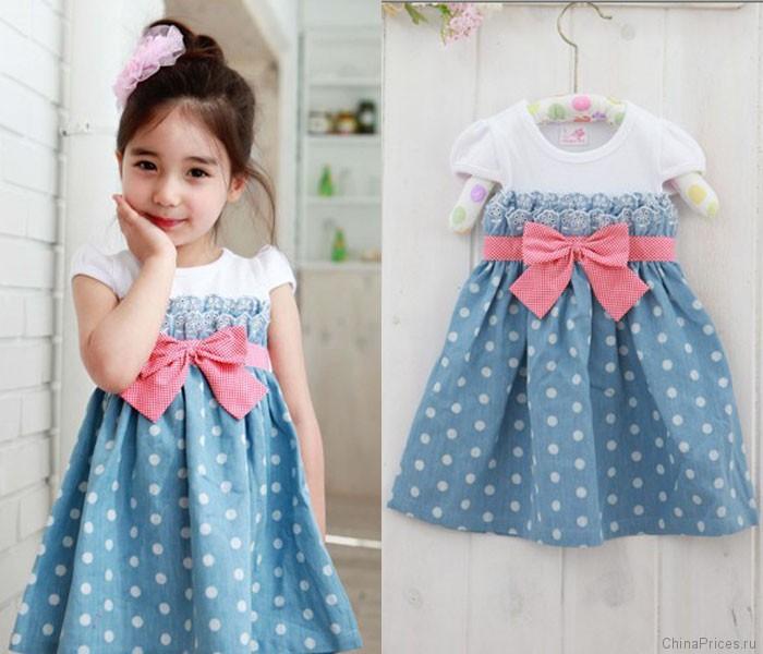 Платья детские модели фото