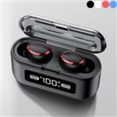 TWS F9 Bluetooth Earphone Touch Wireless Headphones 8D Stereo Sports Earbuds